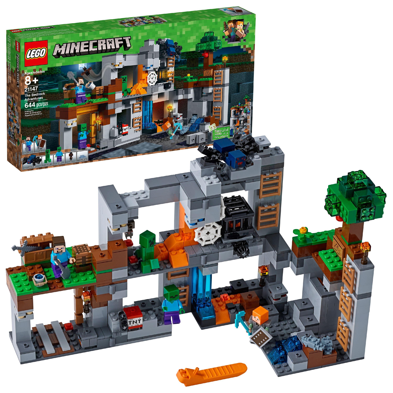 LEGO Minecraft The Bedrock Adventures21147(644 Pieces)