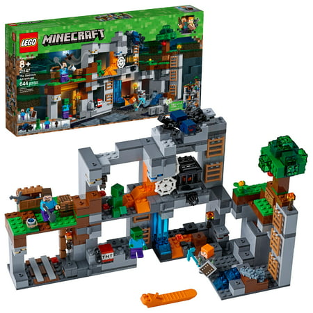 LEGO Minecraft The Bedrock Adventures 21147 (644 Pieces)