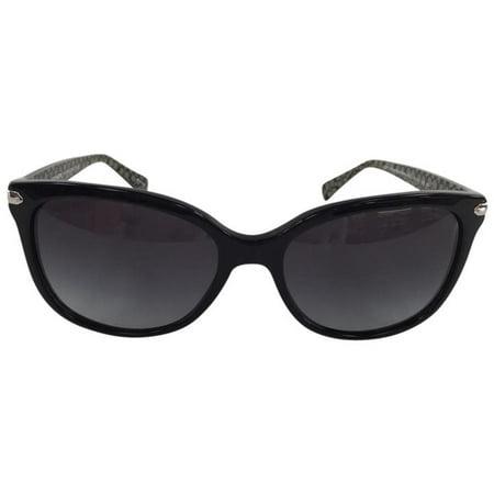 420e823720f7a Coach - New Coach HC 8132 526111 Black  Black Military Plastic Sunglasses  57mm - Walmart.com