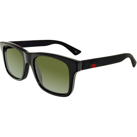 Gucci GG0008S-001-53 Black Square (Gucci Sunglasses For Men Price)