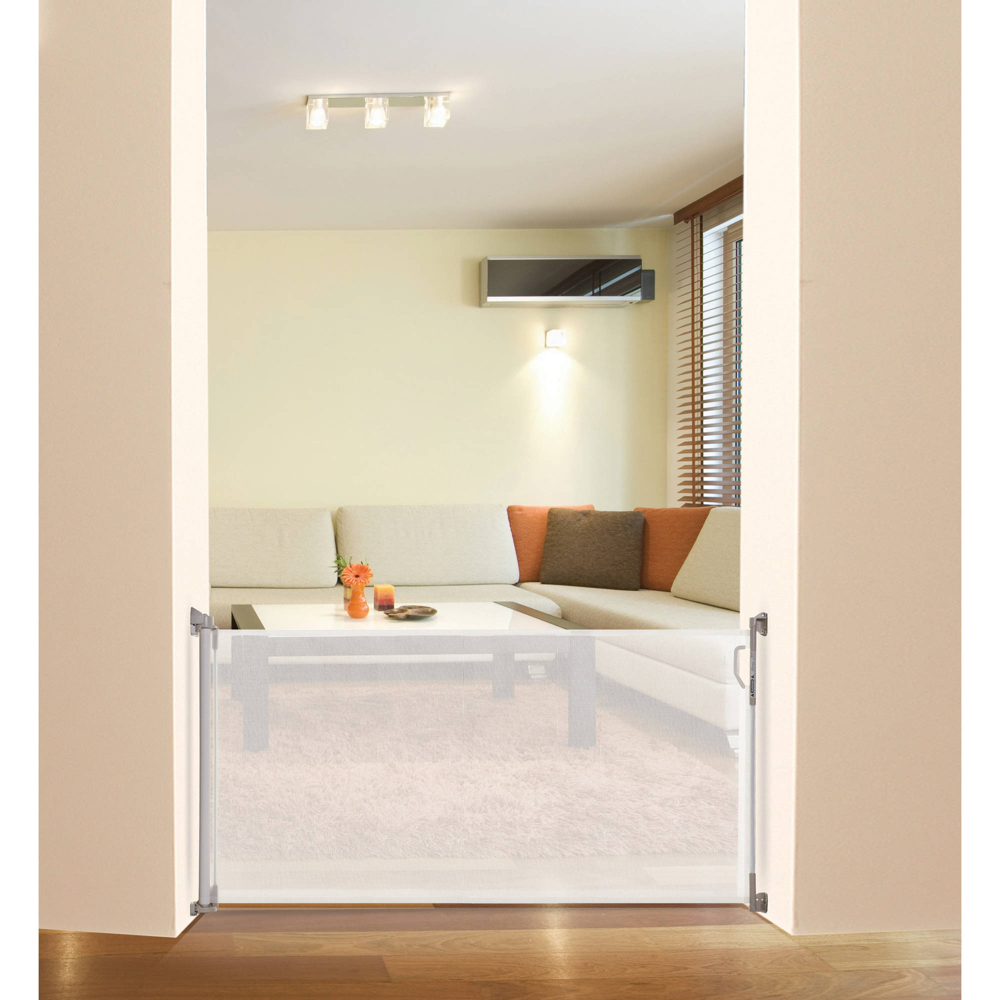 dreambaby retractable indooroutdoor security gate white  - dreambaby retractable indooroutdoor security gate white  walmartcom