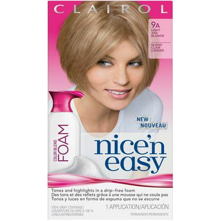 Clairol Nice \'N Easy Blend Foam Hair Color - Walmart.com