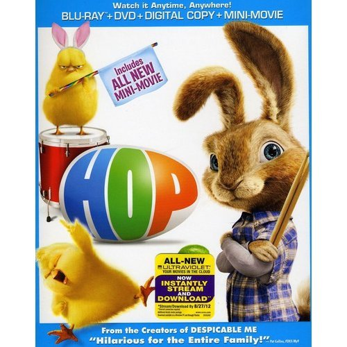Hop (Blu-ray + DVD) (With INSTAWATCH) (Widescreen)