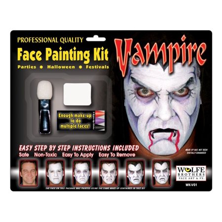 Vampire Makeup Kit - Wolfe Bothers