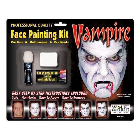 Vampire Makeup Kit - Wolfe Bothers (Vampire Makeup Look)