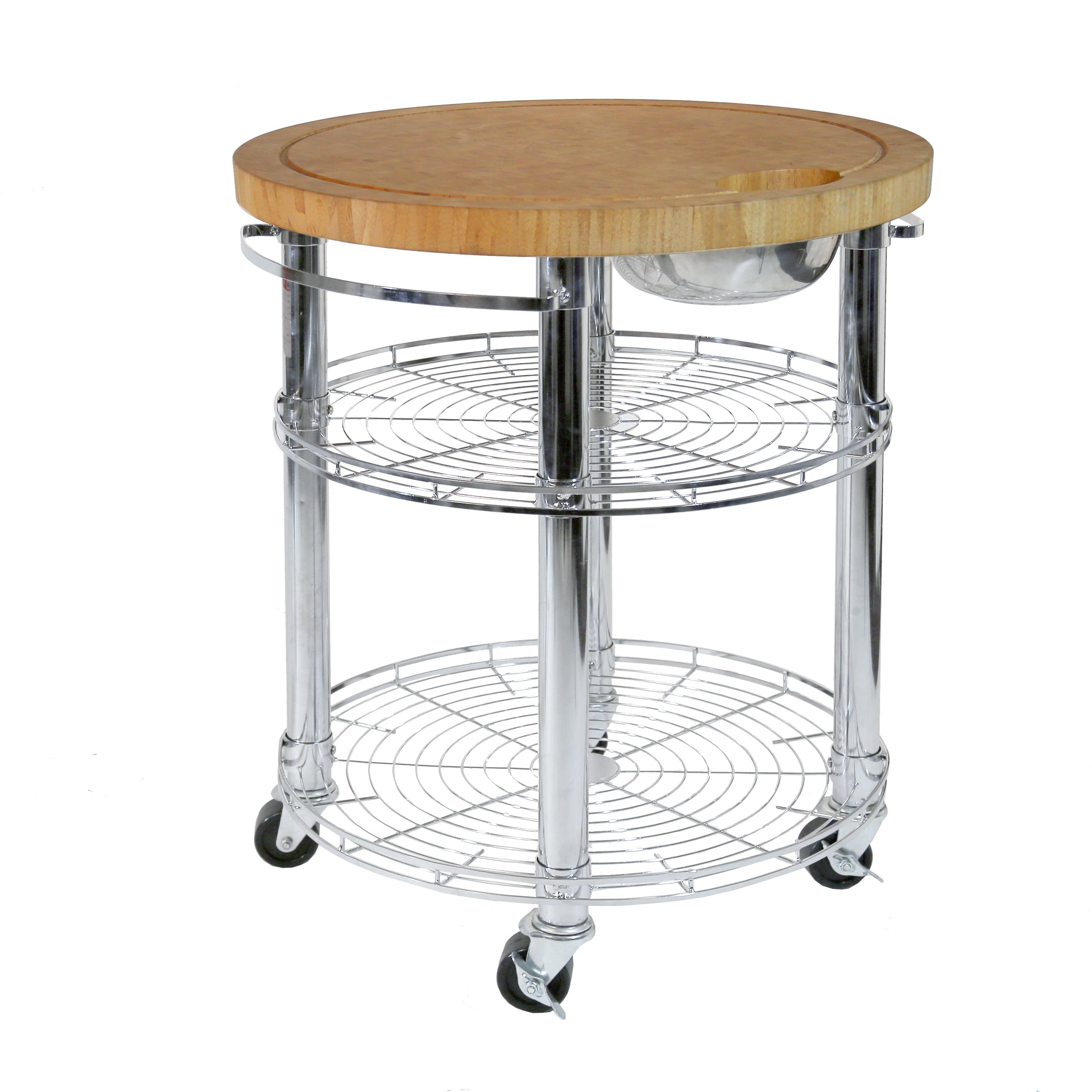 "Kitchen/BBQ Island Cart with Storage, 30"" W x 30"" D x 36"" H by Seville Classics"