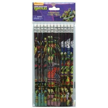 - Teenage Mutant Ninja Turtles Brown Wooden Pencils Pack of 12