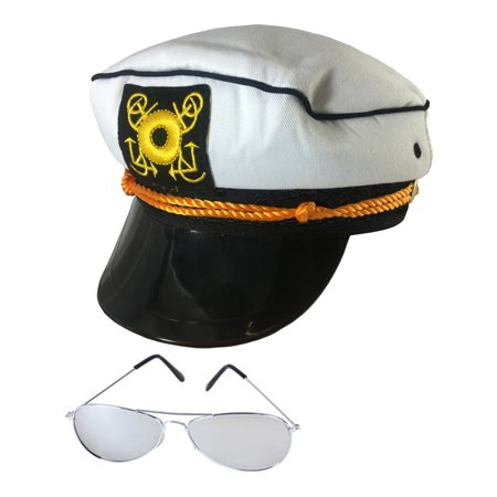 M&m Halloween Costumes Canada (Yacht Hat And Sunglasses The Hefner Costume Accessory)