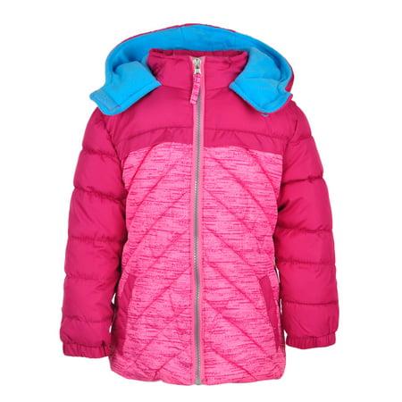 Insulated Jacket Avocado (Pink Platinum Girls' Insulated Jacket )