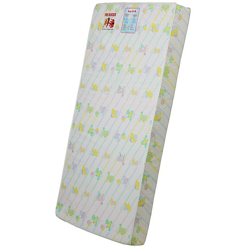 "Dream On Me 5"" Foam Crib and Toddler Bed Quilted Standard Mattress"