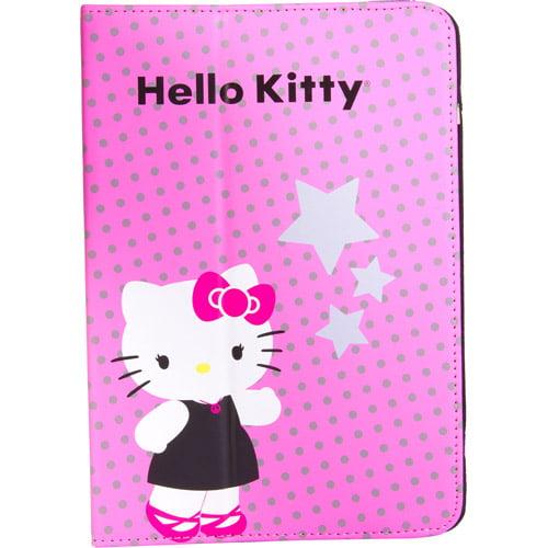 "7"" Portfolio Case for Tablet PCs, Hello Kitty by Sakar International"