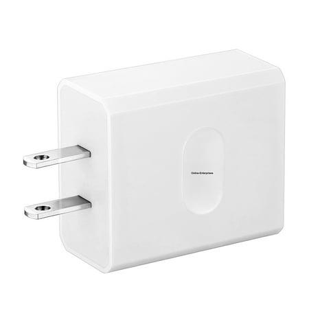 Online-Enterprises Qualcomm Quick Charge 3 0 USB PLUG ONLY Charger Aro Pro,  Arlo Pro 2, Galaxy S8, S8 Plus, LG G6, LG G5, WyzeCam, Amazon Cloud Cam,