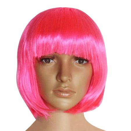 DZT1968® Anime Fashion Short Wig Cosplay Party Straight Wig - Nursing Costumes