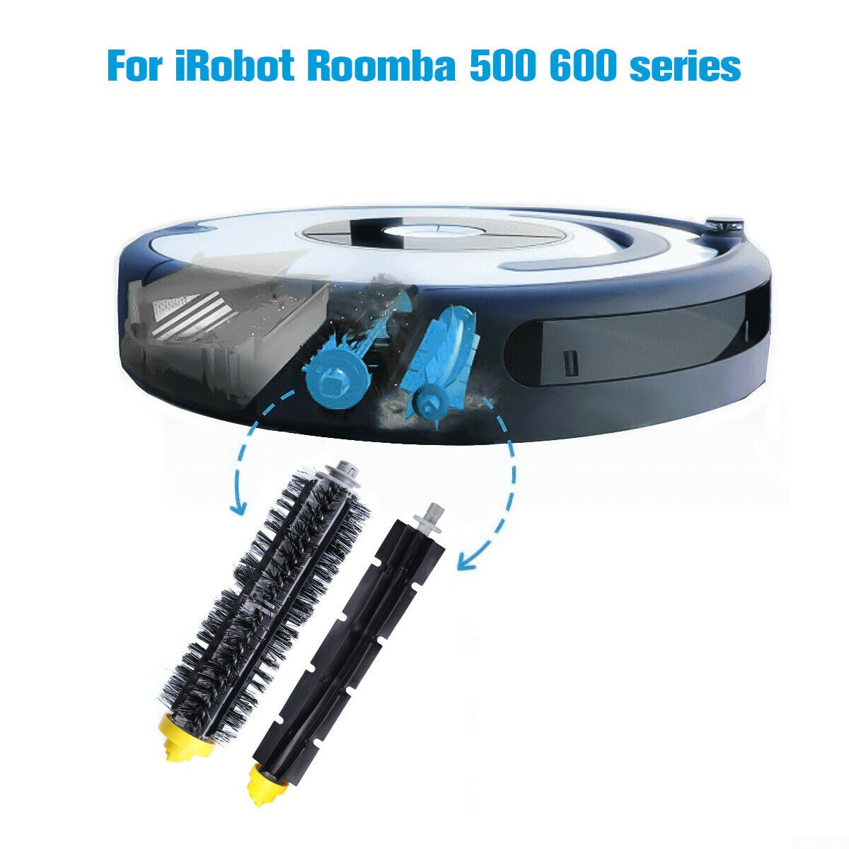 Replacement Parts Kit For iRobot Roomba 680 670 600 Series Vacuum Filter Brush