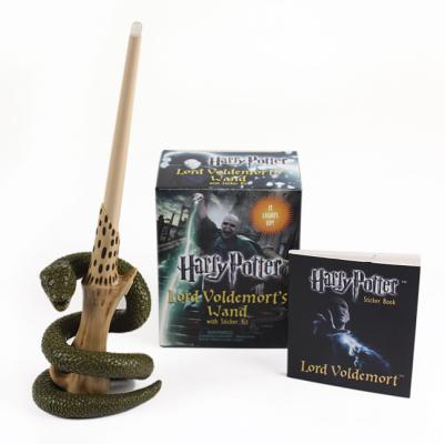 Miniature Editions: Harry Potter Lord Voldemort's Wand with Sticker Kit (Other)