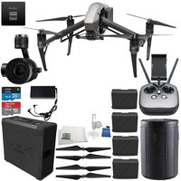 DJI Inspire 2 Premium Combo with Zenmuse X5S and CinemaDNG and Apple ProRes Licenses Ultimate Bundle