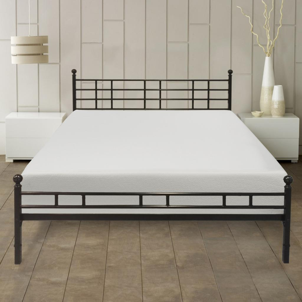Best Price Mattress 10 inch Memory Foam Mattress and Easy Set-up Bed Frame Set, Multiple Sizes