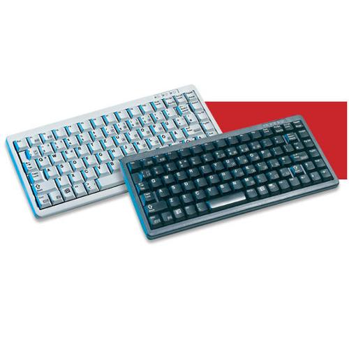 Cherry G84-4100lcmus-2 Black 11 Ultraslim Keyboard.us Space Reduced 86 Position Key Layout. Includes Us (g844100lcmus2)