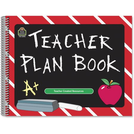 Teacher Created Resources, TCR2093, Chalkboard Teacher Plan Book, 1 - School Supplies For Teachers