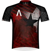 Primal Wear Rebel Men's Cycling Jersey: Red/Black, XL