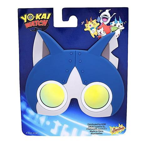 Party Costumes - Sun-Staches - Yo-Kai Watch - Robot Cat Costume Mask sg2668 - image 1 de 2