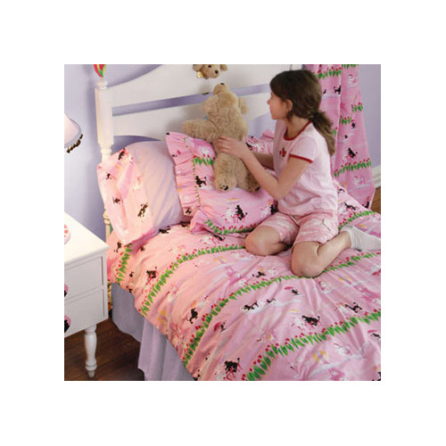 Room Magic Poodles in Paris 3 Piece Toddler Bedding Set