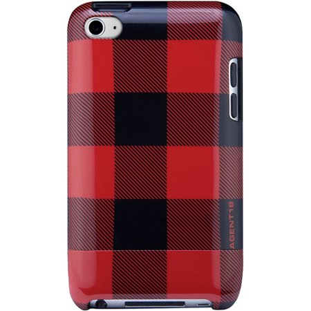 Agent 18 WTSL4/M19 Shield Limited iPod Touch 4G Plaid Case
