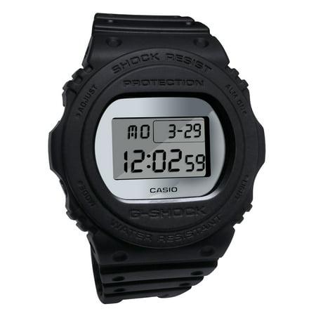 G-shock Black Resin Band - Casio DW5700BBMA-1 G-Shock Gray LCD Digital Mirror Dial Black Resin Band Watch , 889232192857, BRC - $99