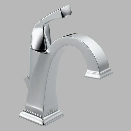 Dryden Single Hole Escutcheon (Delta Dryden Single Handle Bathroom Faucet in Chrome 551-DST)