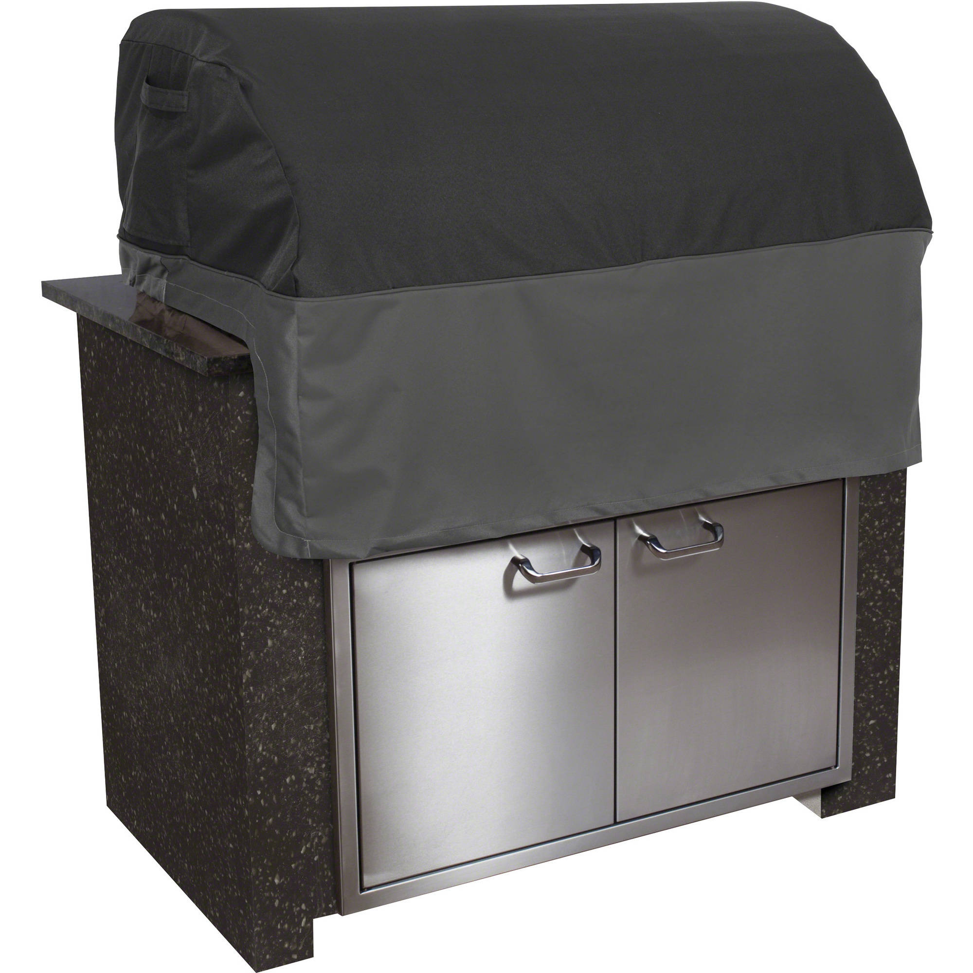 Classic Accessories Veranda FadeSafe Patio Built-In BBQ Grill Top Cover