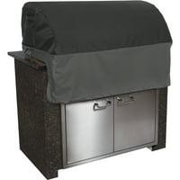 Classic Accessories Veranda FadeSafe Patio Built-In Barbecue BBQ Grill Top Patio Storage Cover
