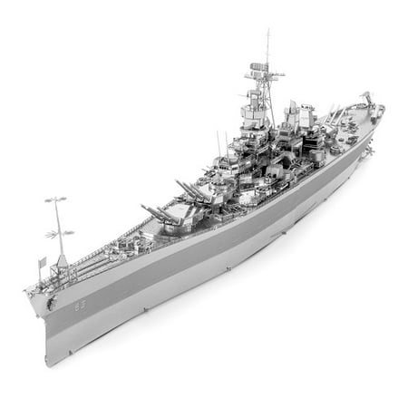 Fascinations ICONX USS Missouri (BB-63) 3D Metal Model (Uss Kitty Hawk Cv 63 Model Kit)