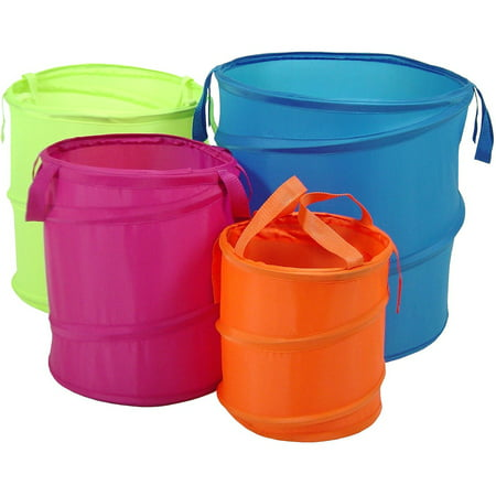 Bongo Pop Up Buckets, Set of 4 (Storage Buckets)