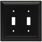 Brainerd Architectural 2-Gang Toggle Switch Wall Plate