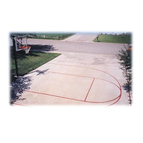 First Team Basketball Court Stencil Kit - FT20