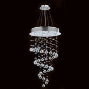 Worldwide Lighting Icicle 6-Light Waterfall Chandelier