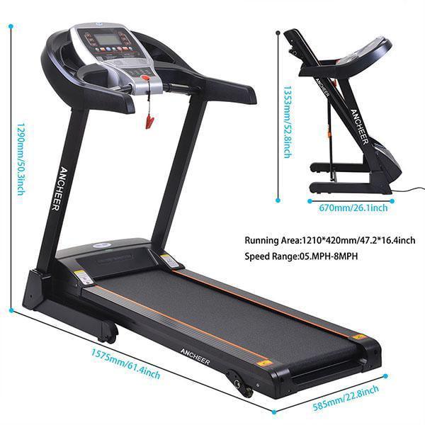 New Model Treadmill Electric Folding Treadmill  WLT
