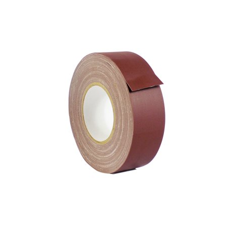 WOD CGT-80 Gaffer Tape Burgundy Low Gloss Finish Film - 4 inch X 60 yds. - Residue Free, Non Reflective Gaffer, Better than Duct Tape (Available in Multiple Colors)
