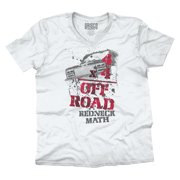 Four Wheeler Off Road Shirt   Funny Redneck Math Mudding Hick V-Neck T-Shirt