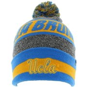 Top Of The World Mens UCLA Bruins Ugly Sweater Pom Beanie Heather Grey
