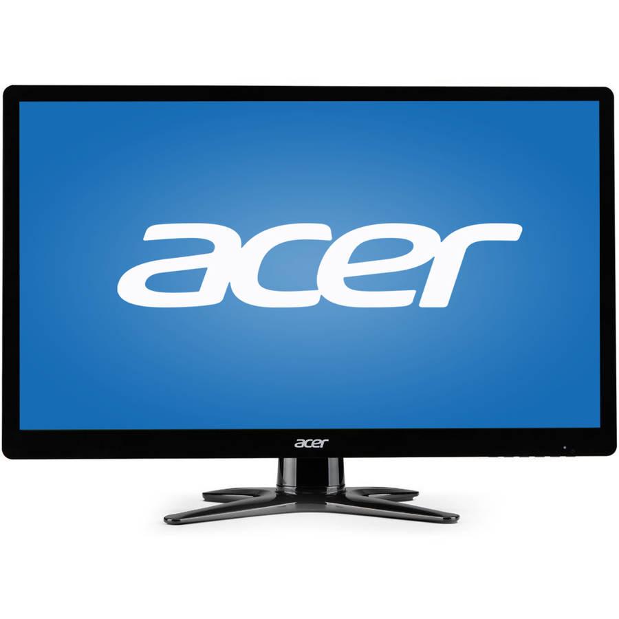 """Acer 23"""" LCD Widescreen Monitor (G236HL BBD Black), Manufacturer Refurbished"""