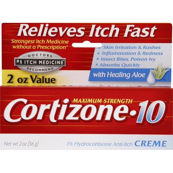 1c8879590e Cortizone 10 Anti-Itch Crème with Aloe 2oz, Value Size - Walmart.com