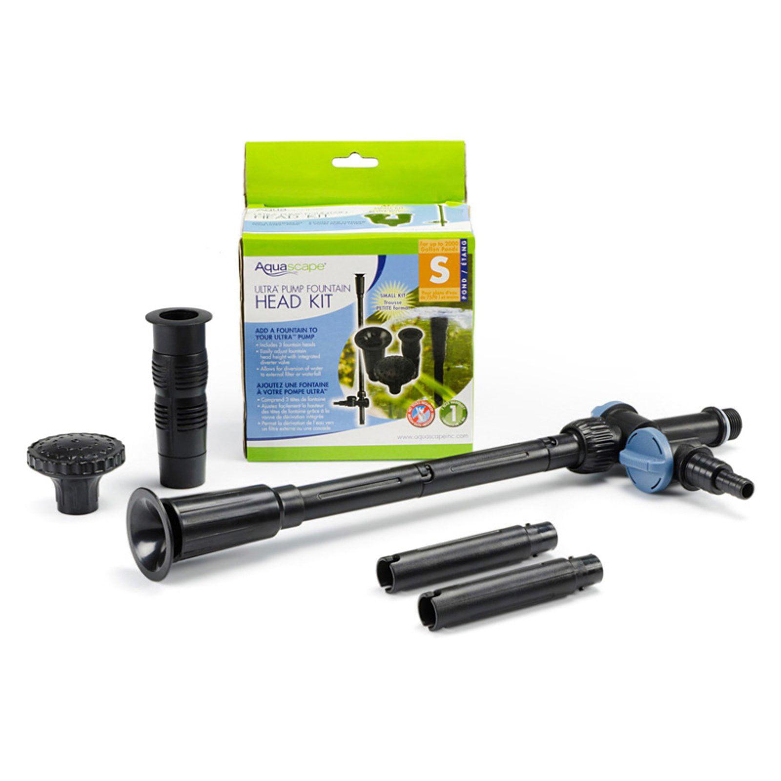 Aquascape Ultra Pump Fountain Head Kit Small by BFG Supply