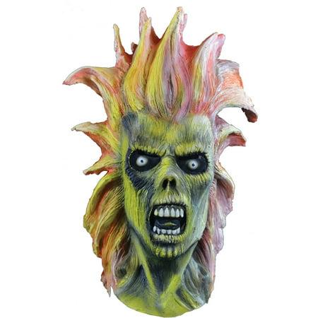 Iron Maiden Eddie Mask Adult Halloween Accessory (Eddie Vedder Halloween)