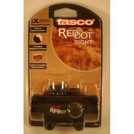 Tasco 1X30 Red Dot Sight BKRD30