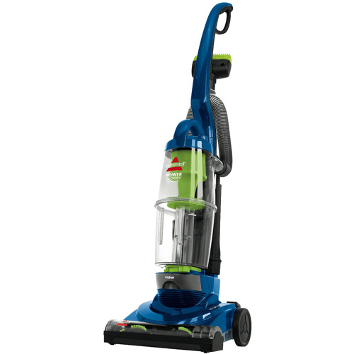 Bissell PowerGroom Compact Bagless Upright Vacuum, Blue/Lime Green, 13H8W