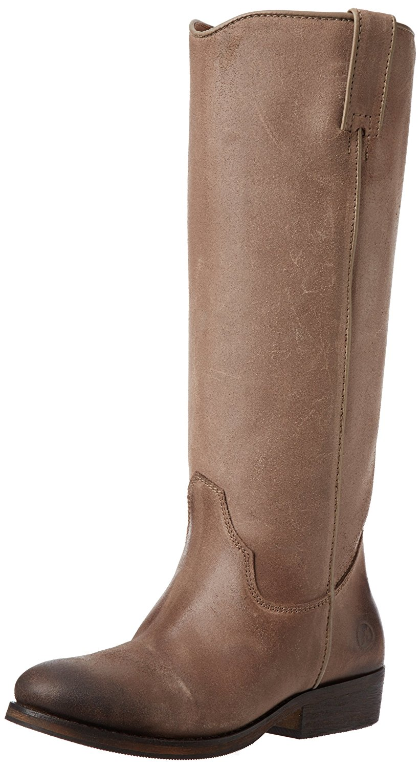 Diba True Women's Bronx Tam Mee Tall Leather Boots Taupe Rockleat (40.0 EU   10.0M US) by