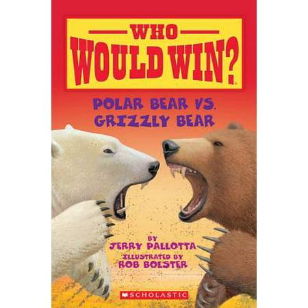 Polar Bear Wood - Polar Bear vs. Grizzly Bear (Paperback)