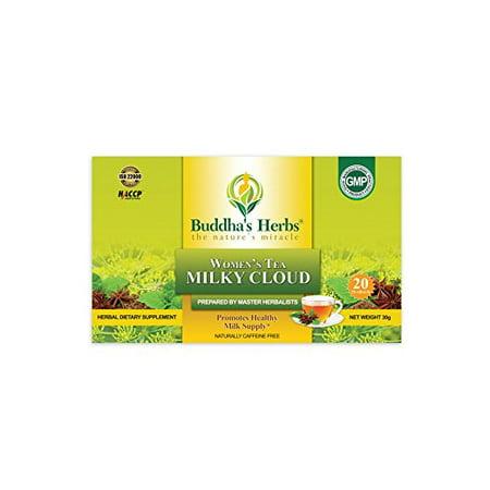 Milky Cloud Tea - Herbal Lactation Tea for Breast Feeding WOMEN - Mothers Milk Tea - Nursing Tea - 20 COUNT TEA BAGS (2