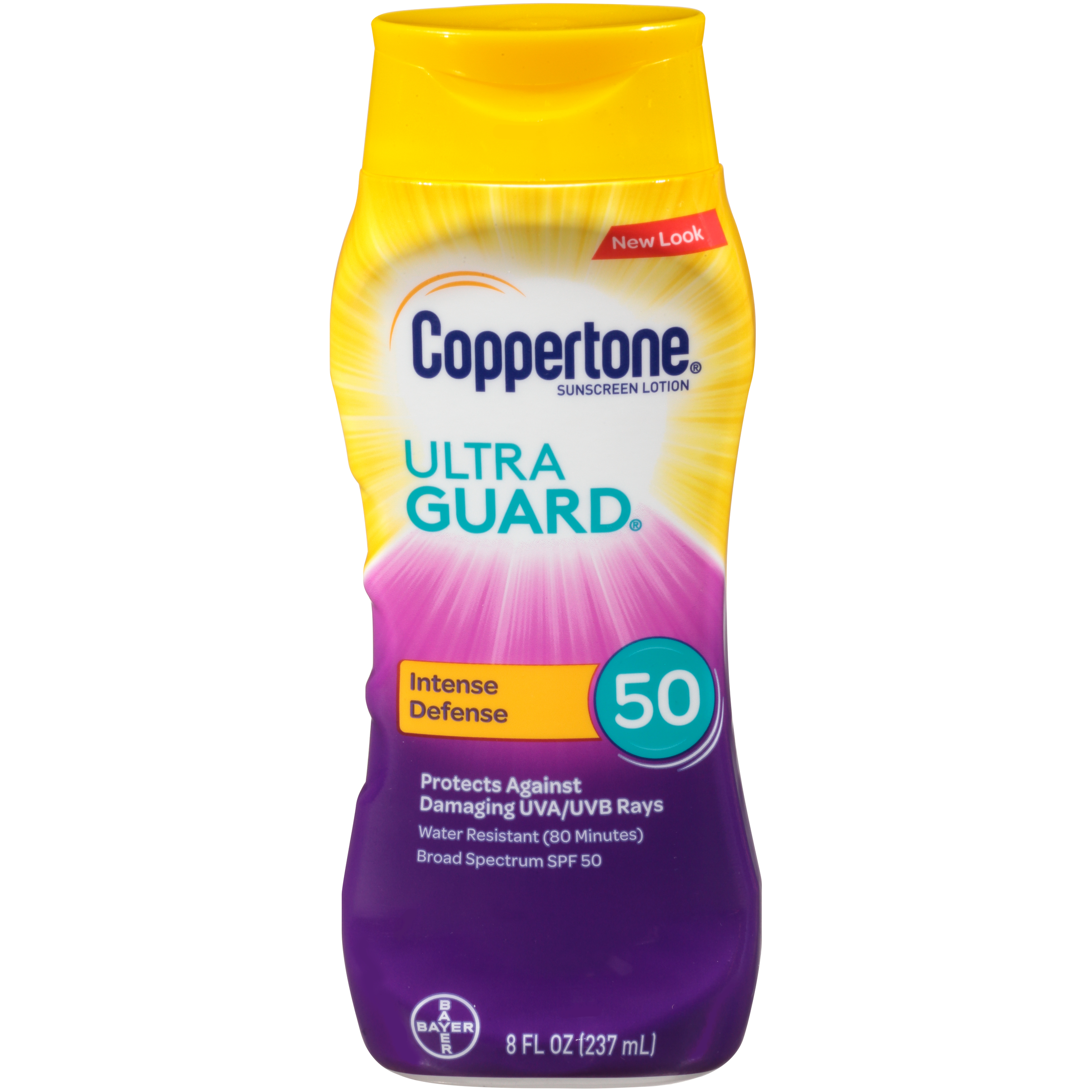 Coppertone Ultra Guard Sunscreen Lotion SPF 50, 8 fl oz